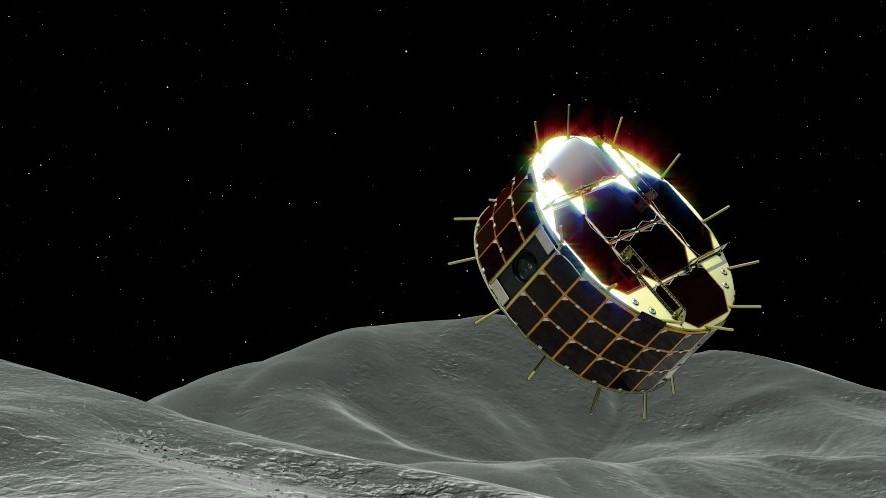 世界初、「はやぶさ2」の探査ロボ2台が小惑星着陸へ分離