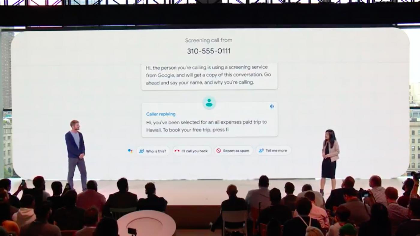 グーグル・アシスタントに新機能、AI仲介で「イタ電」阻止