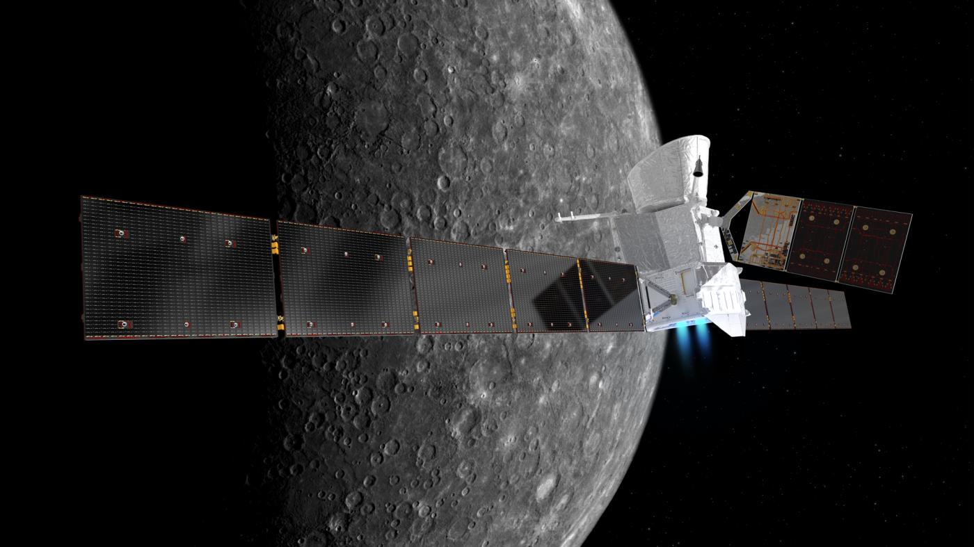 日欧共同の水星探査機「べピ・コロンボ」が打ち上げに成功