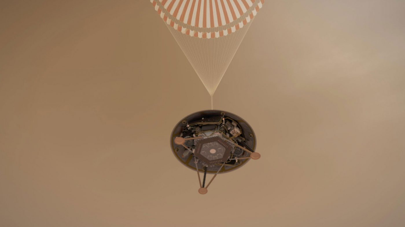 探査機インサイト火星着陸へ、「恐怖の7分間」乗り越えられるか