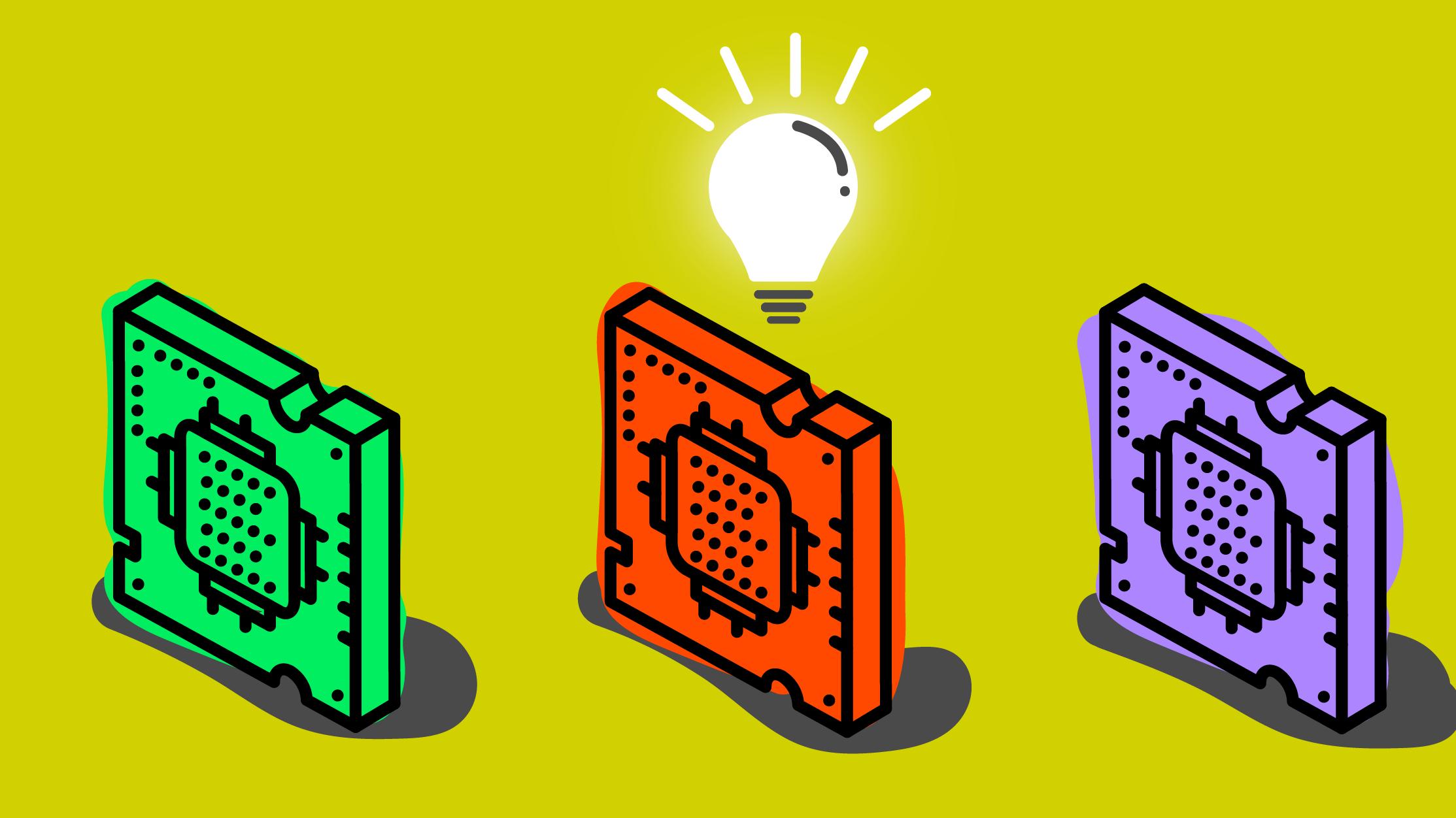 AIチップ開発競争に新局面、光学チップに賭けるスタートアップ