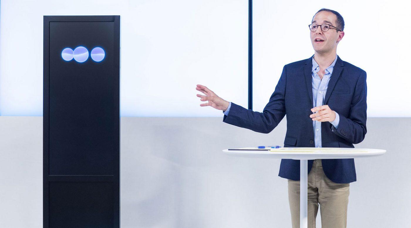 「みんなの意見」からスピーチを自動作成、IBMがCESで披露