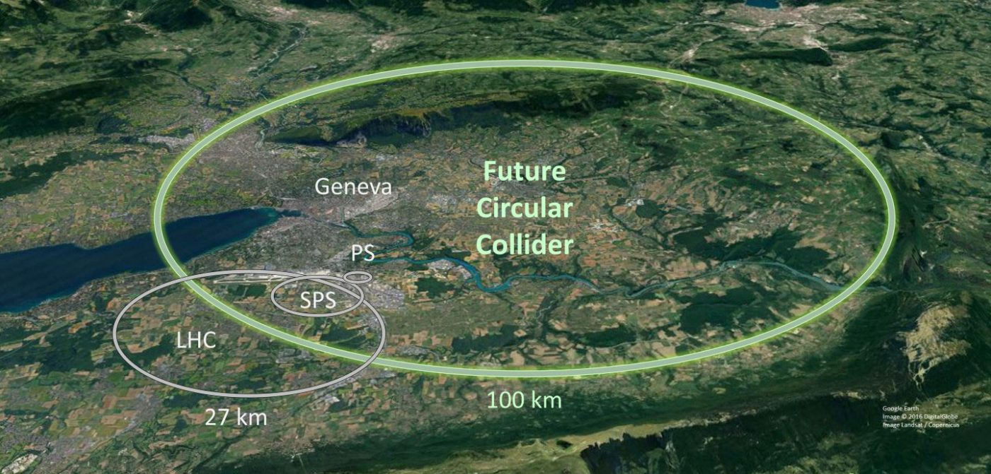 CERN、全長100キロの巨大加速器「FCC」建造を発表