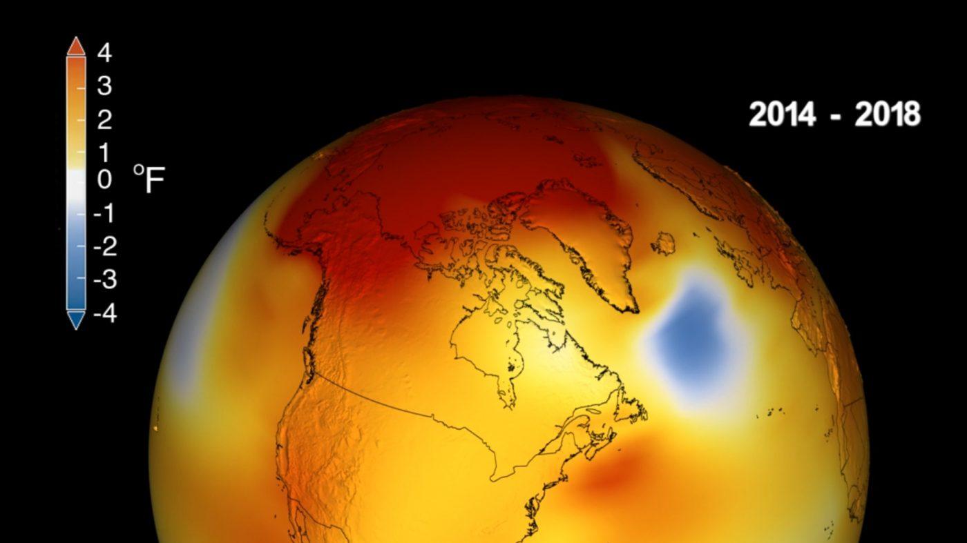 2018年は史上4番目に暑い年だった——過去5年間に記録集中