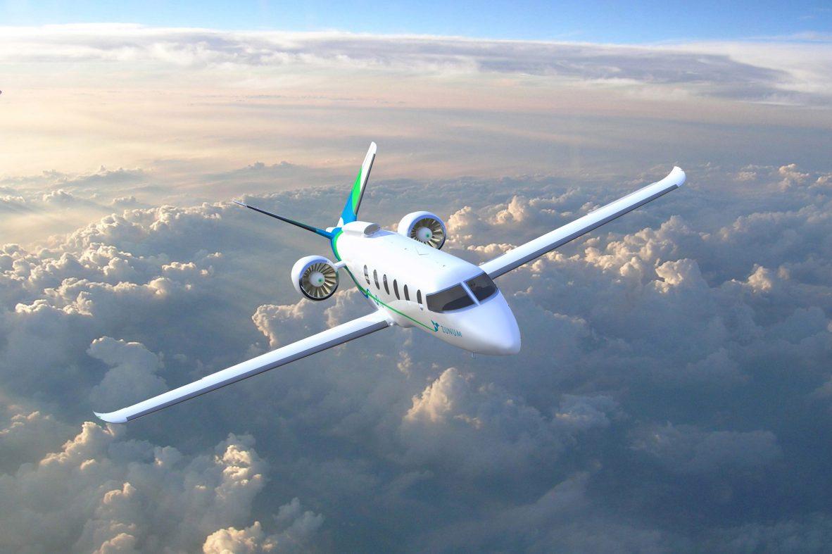 電動航空機までの「つなぎ」にハイブリッドが有効、温暖化対策で