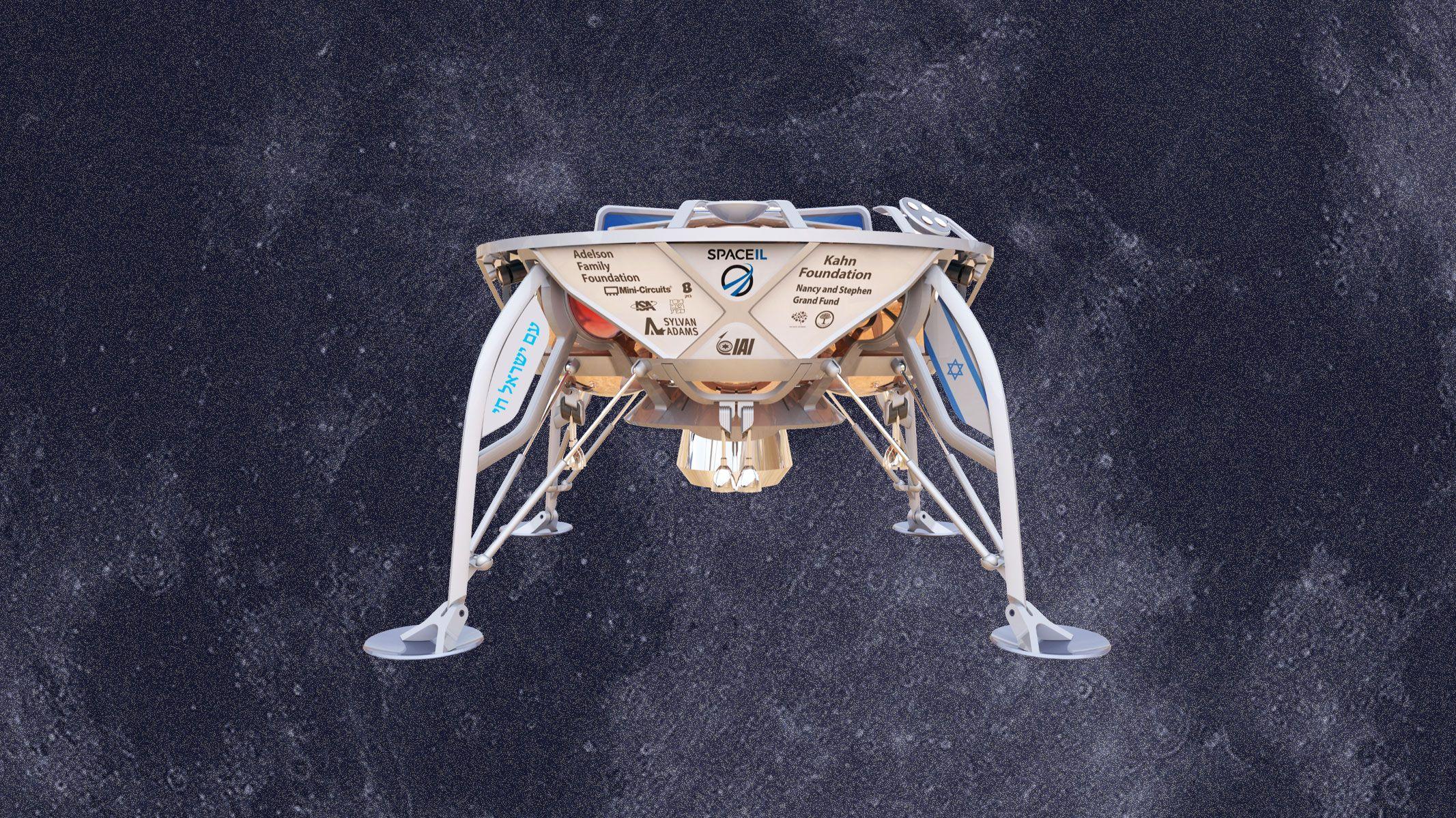 「民間初」の月面着陸目指す イスラエル探査機が打ち上げ