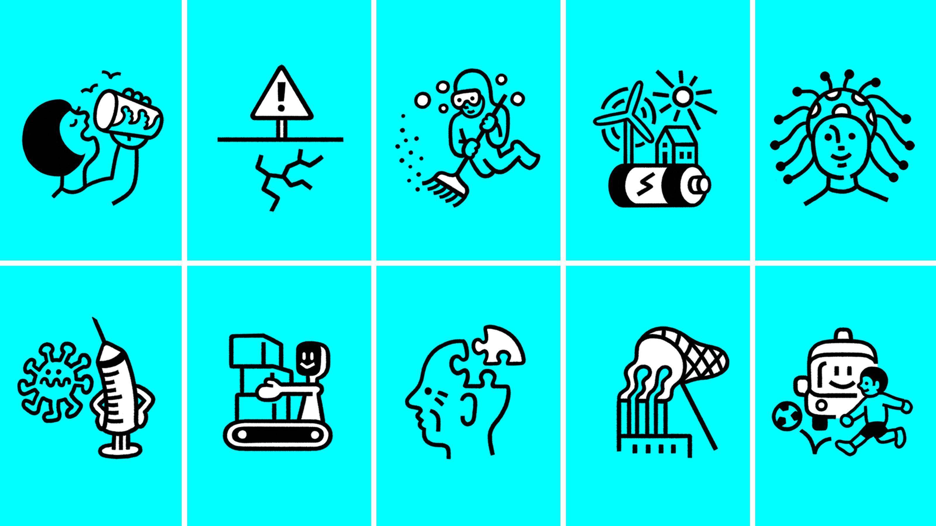 テクノロジーが解決すべき「世界の10大課題」