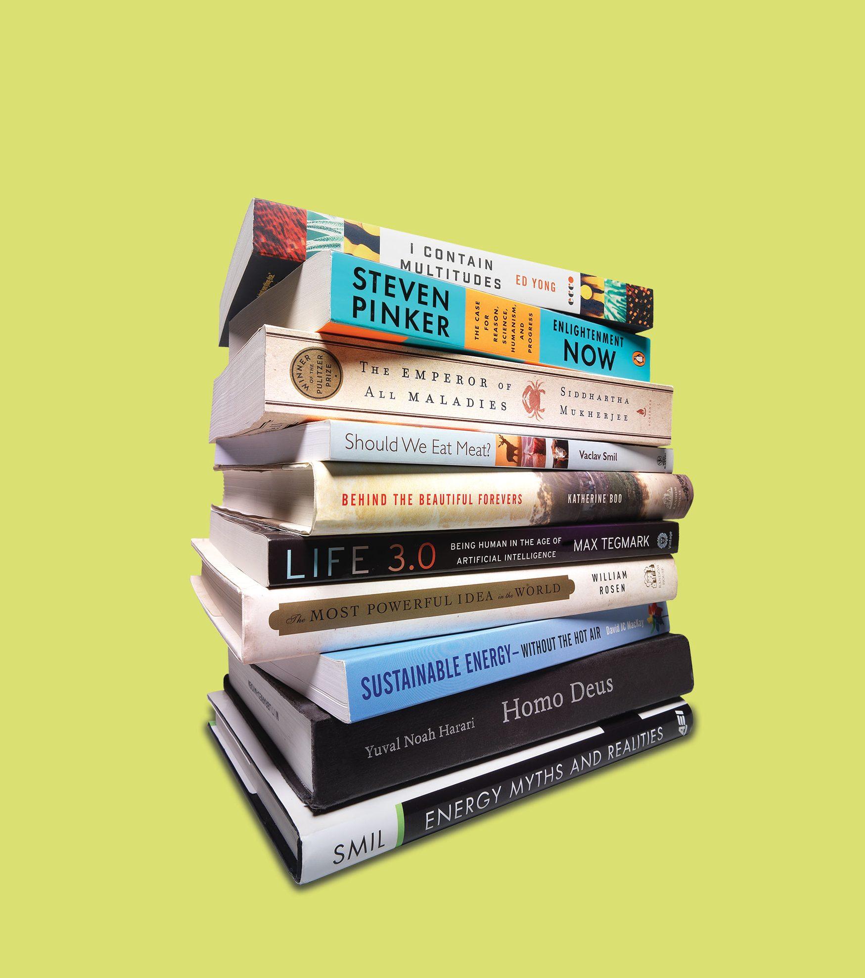 ビル・ゲイツが選んだ、いま読むべき「テクノロジー書」10冊