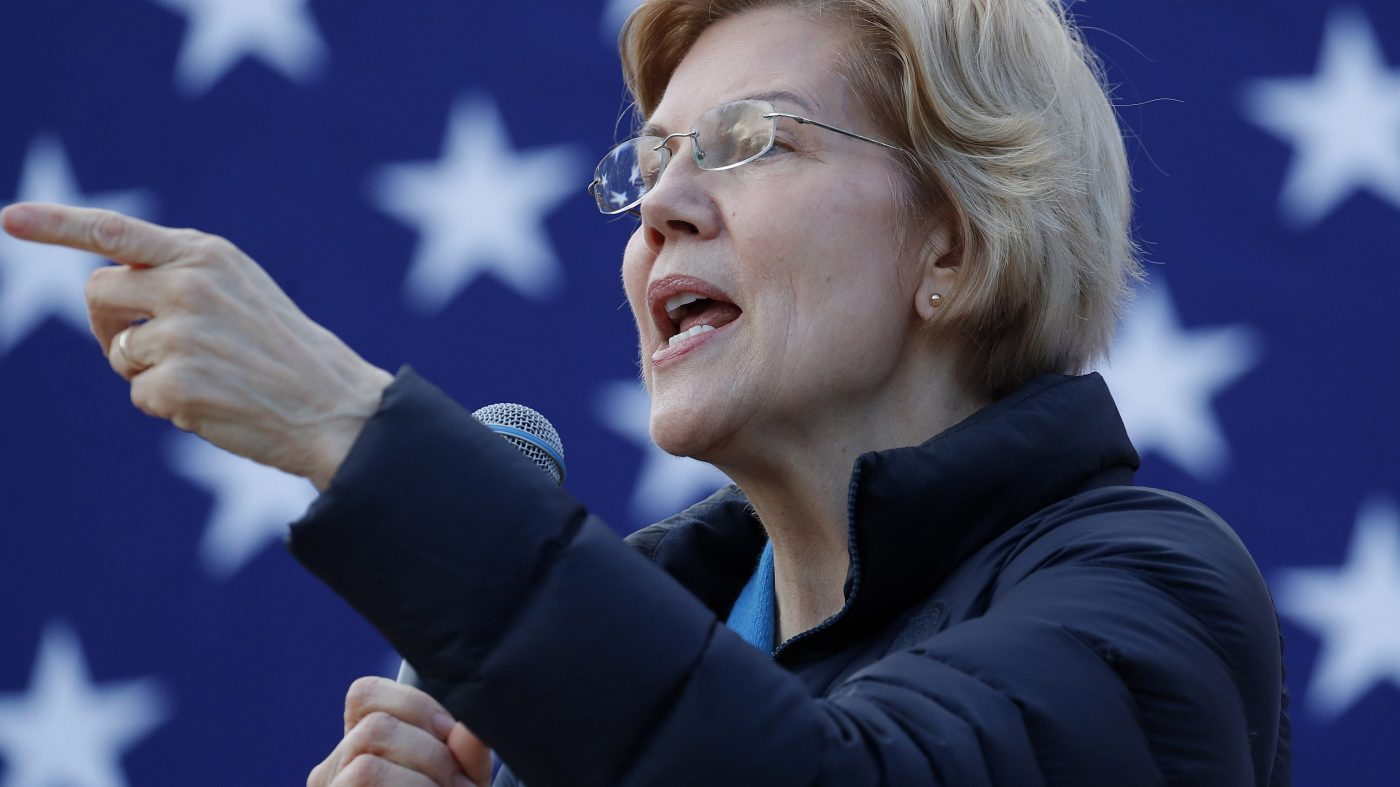 「GAFは解体を」米大統領選出馬のウォーレン議員が公約