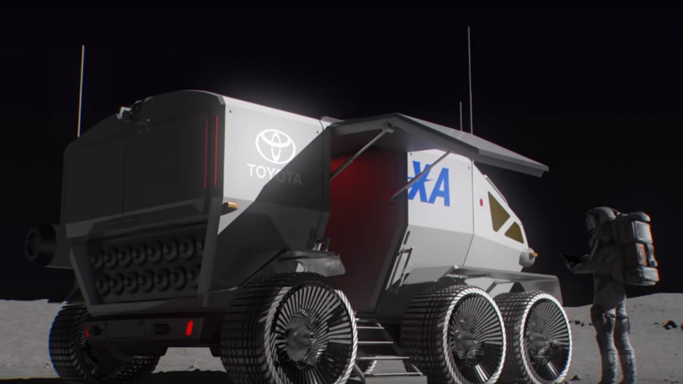 トヨタ、「1万キロ走れる月面車」開発へ——JAXAと共同で