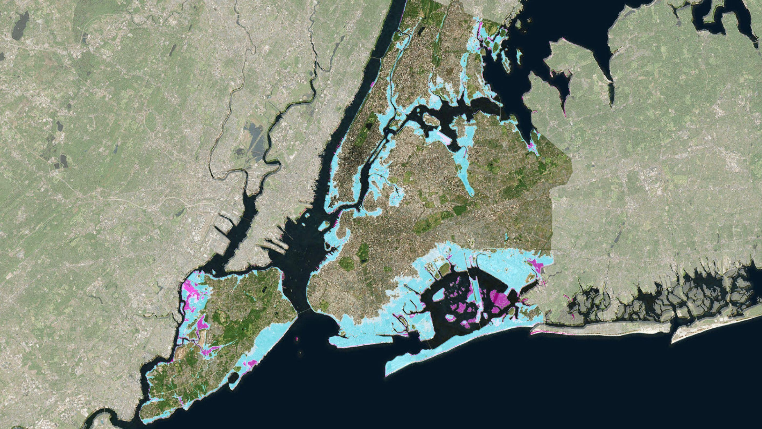 大都市を「水没」から守れ、ニューヨーク市が挑む果てしない課題