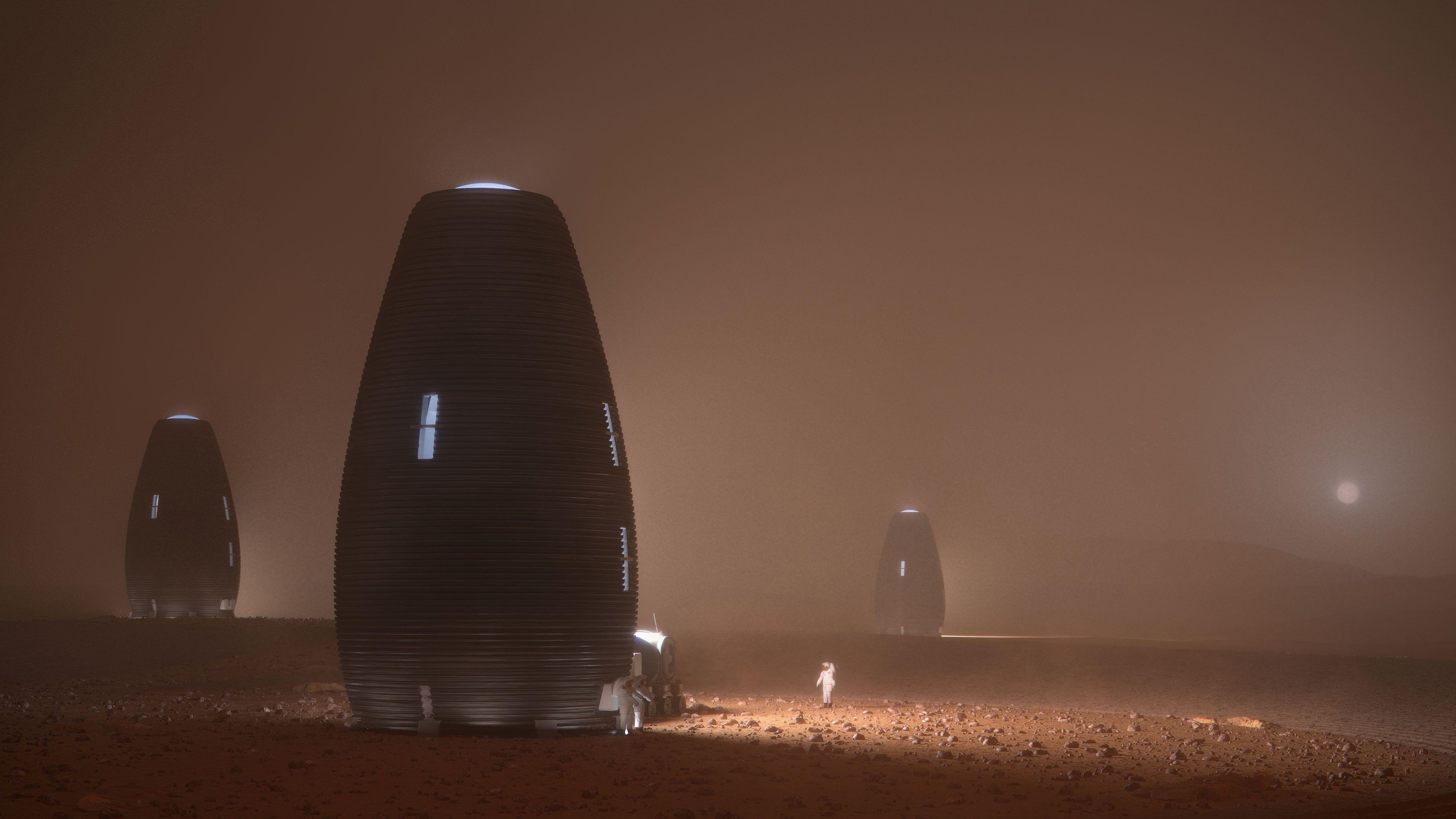 3Dプリント製「火星の家」の住み心地は? NASA主催コンペ決勝へ
