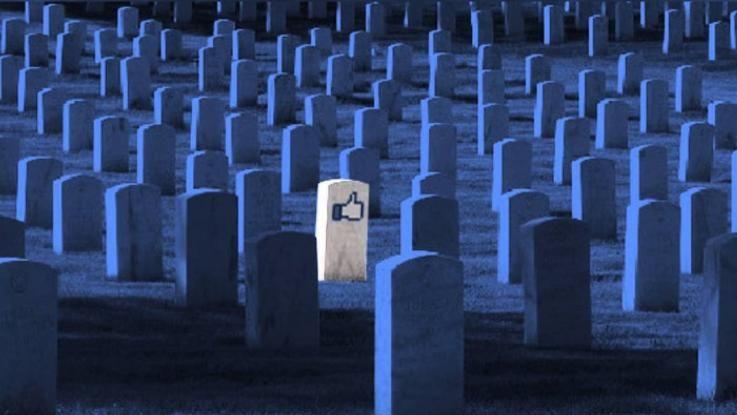 50年後のFBユーザーの半数は死者? アカウント管理が課題に