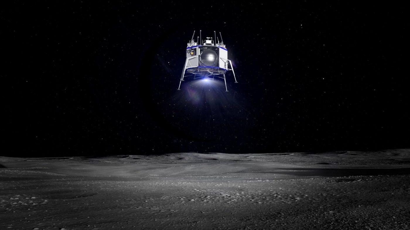 ジェフ・ベゾス、月着陸船「ブルー・ムーン」を披露
