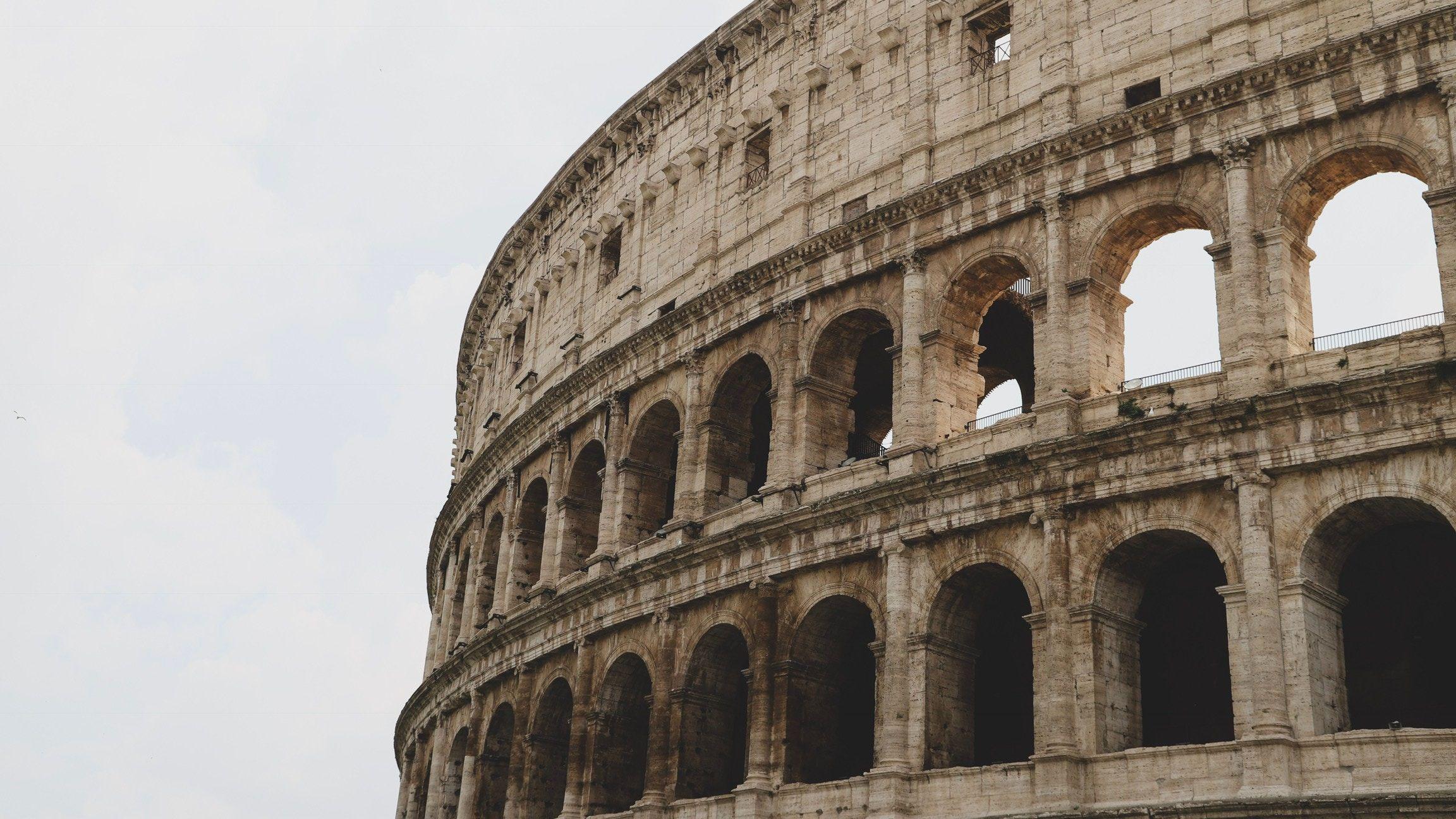 古代ローマの円形闘技場、なぜ2000年経っても崩壊しないのか?