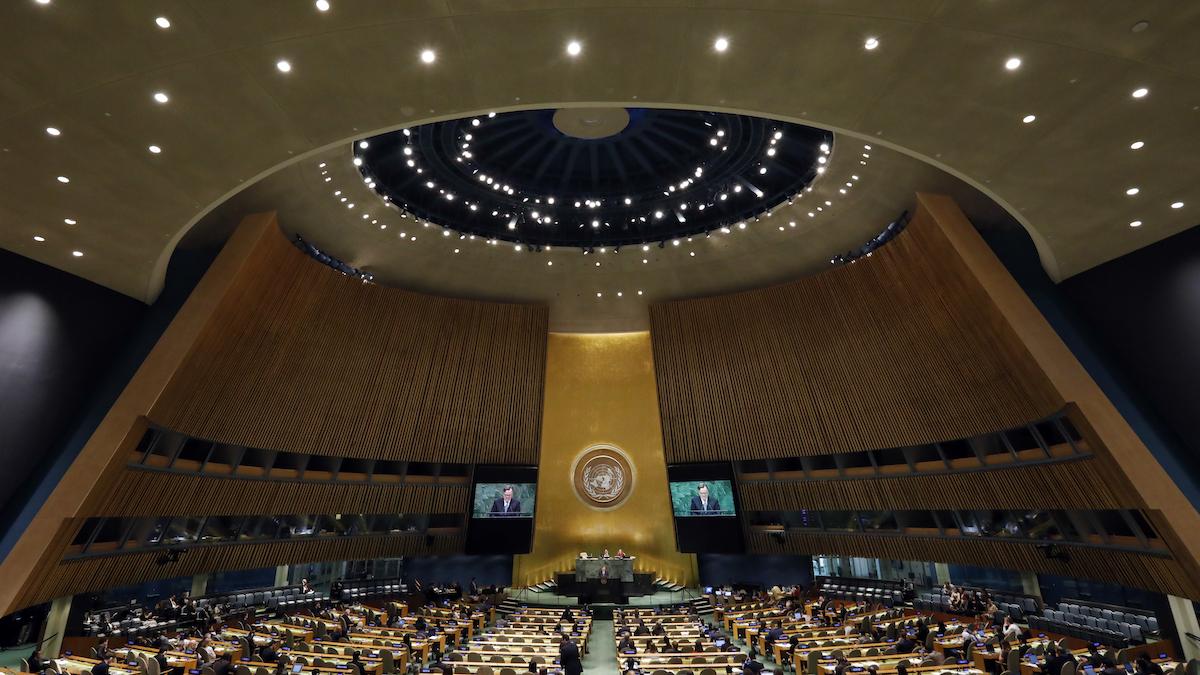 AIで国連演説はわずか13時間で捏造可能、研究者ら警鐘
