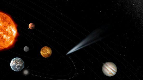 太陽系外からやって来る彗星を「迎え撃ち」、ESAの新計画