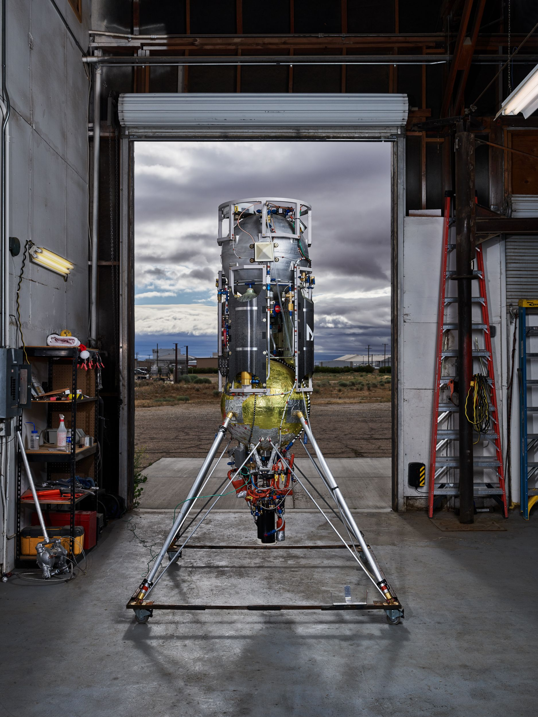 マステン・スペース 世界でもっとも小さな ロケット企業の物語