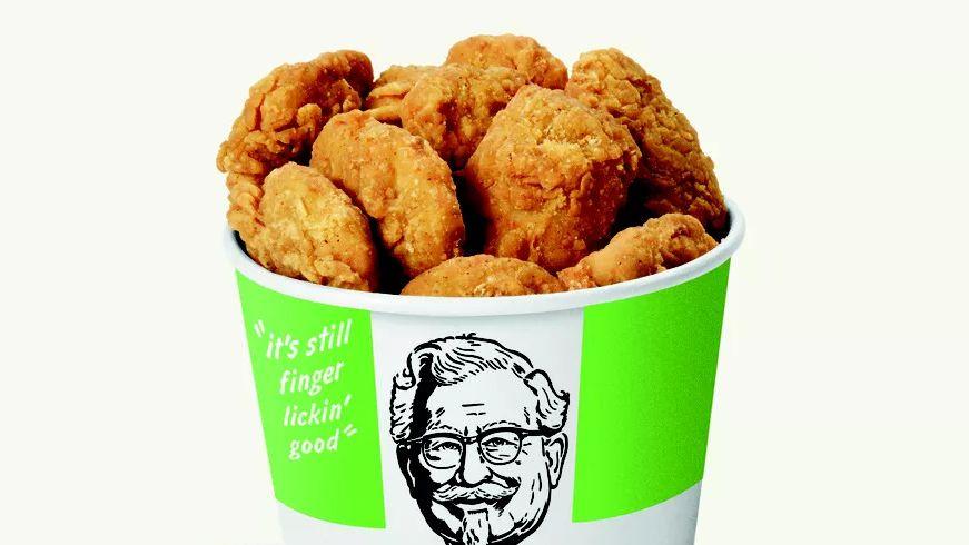 KFCも代替肉ブームに参戦、米国で「肉なしチキン」を試験提供