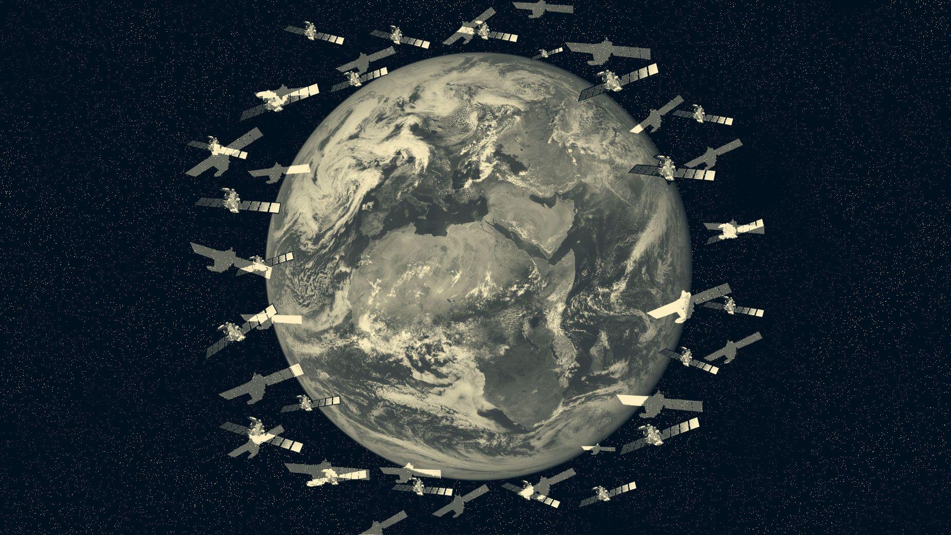 軌道「大混雑時代」に人工衛星の衝突は避けられるか?