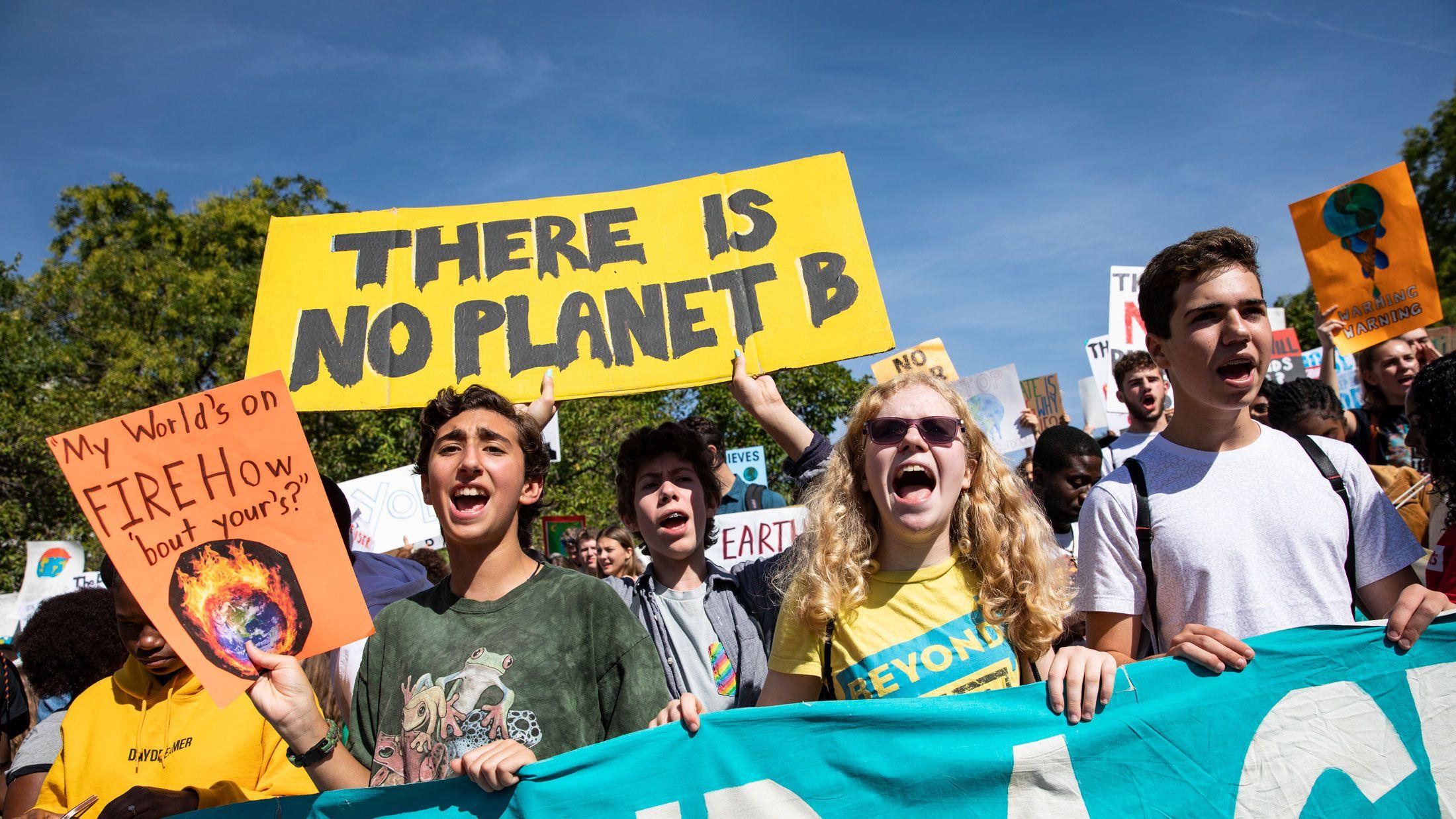 気候変動アクティビズムは 世界を動かすか?