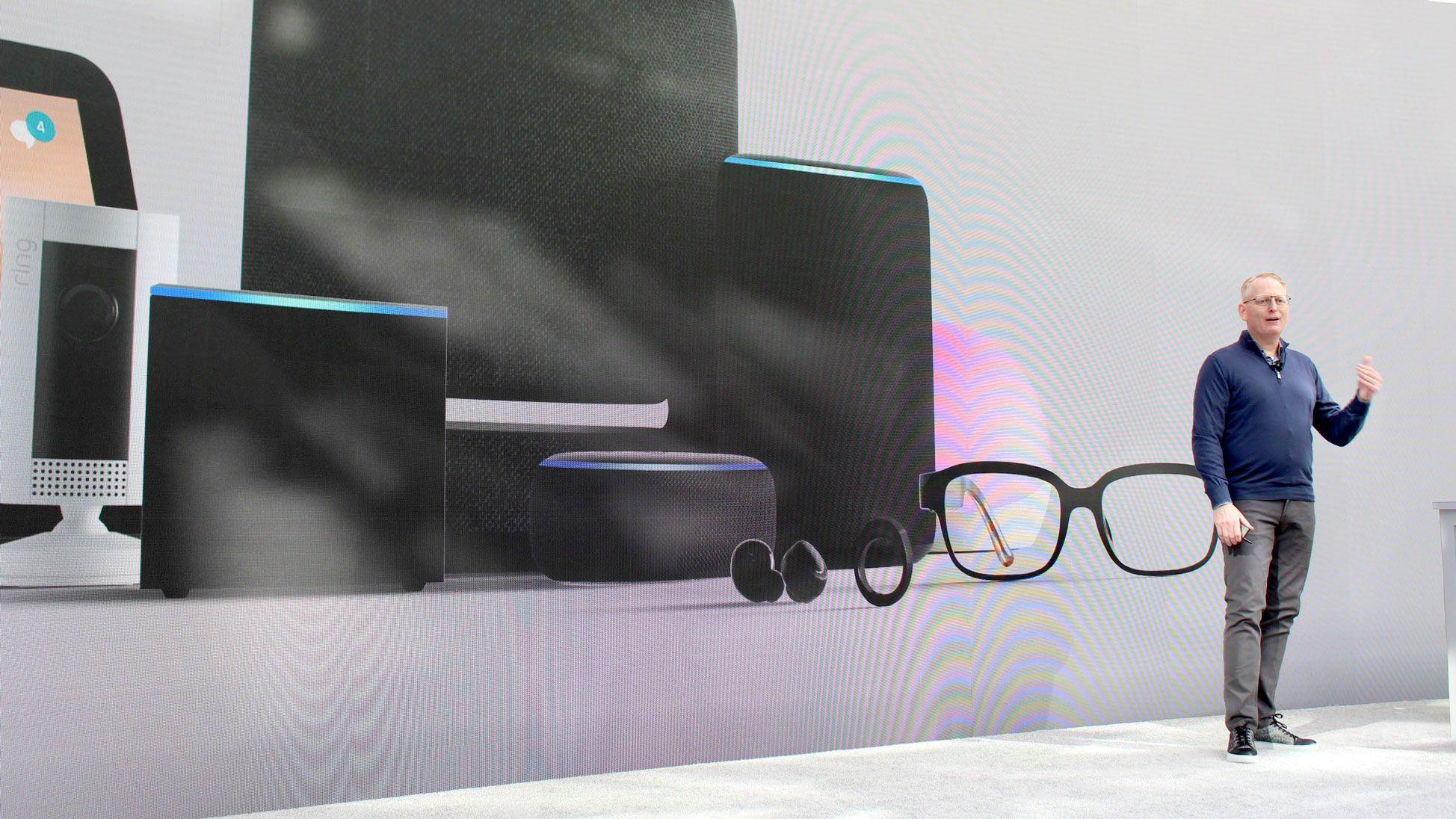 眼鏡から指輪まで、アマゾンが音声対応ガジェットを一挙発表