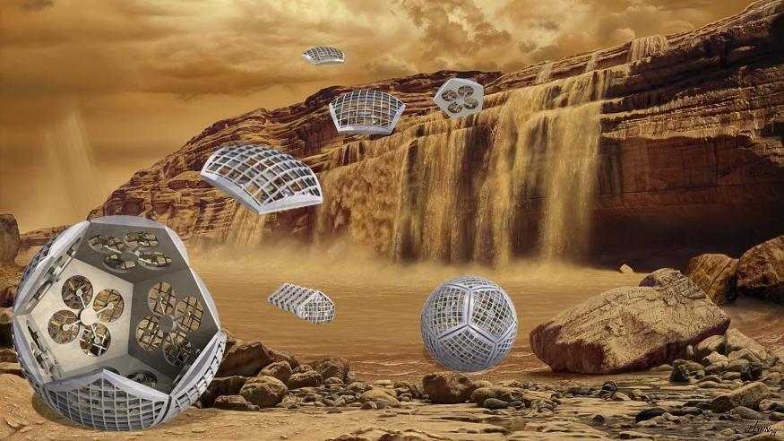 NASA、土星系の探査用に変形ロボをテスト中