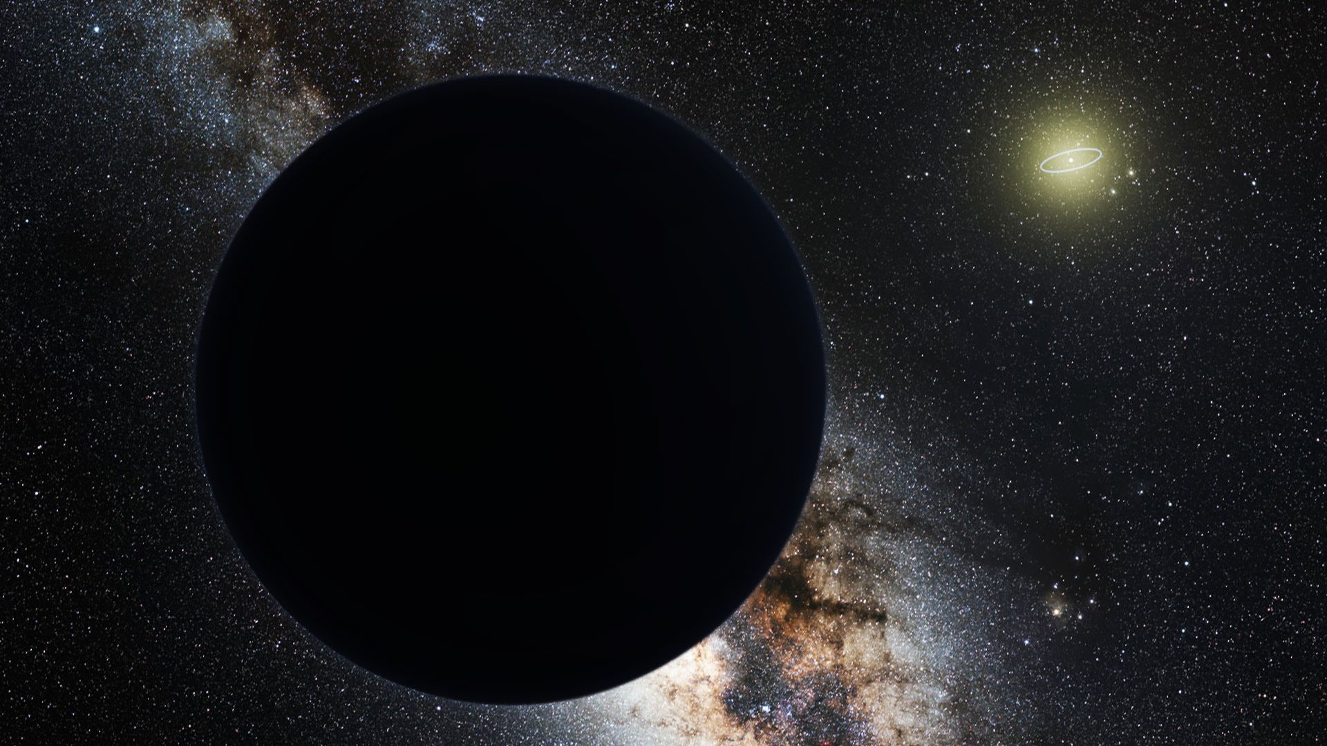 謎の「第9惑星」の正体は原始ブラックホールか? 英天文学者が提唱