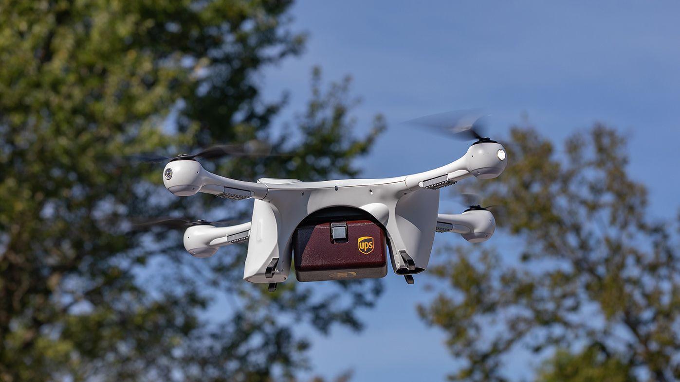UPS、ドローン配送を本格展開へ=FAAの認可を取得