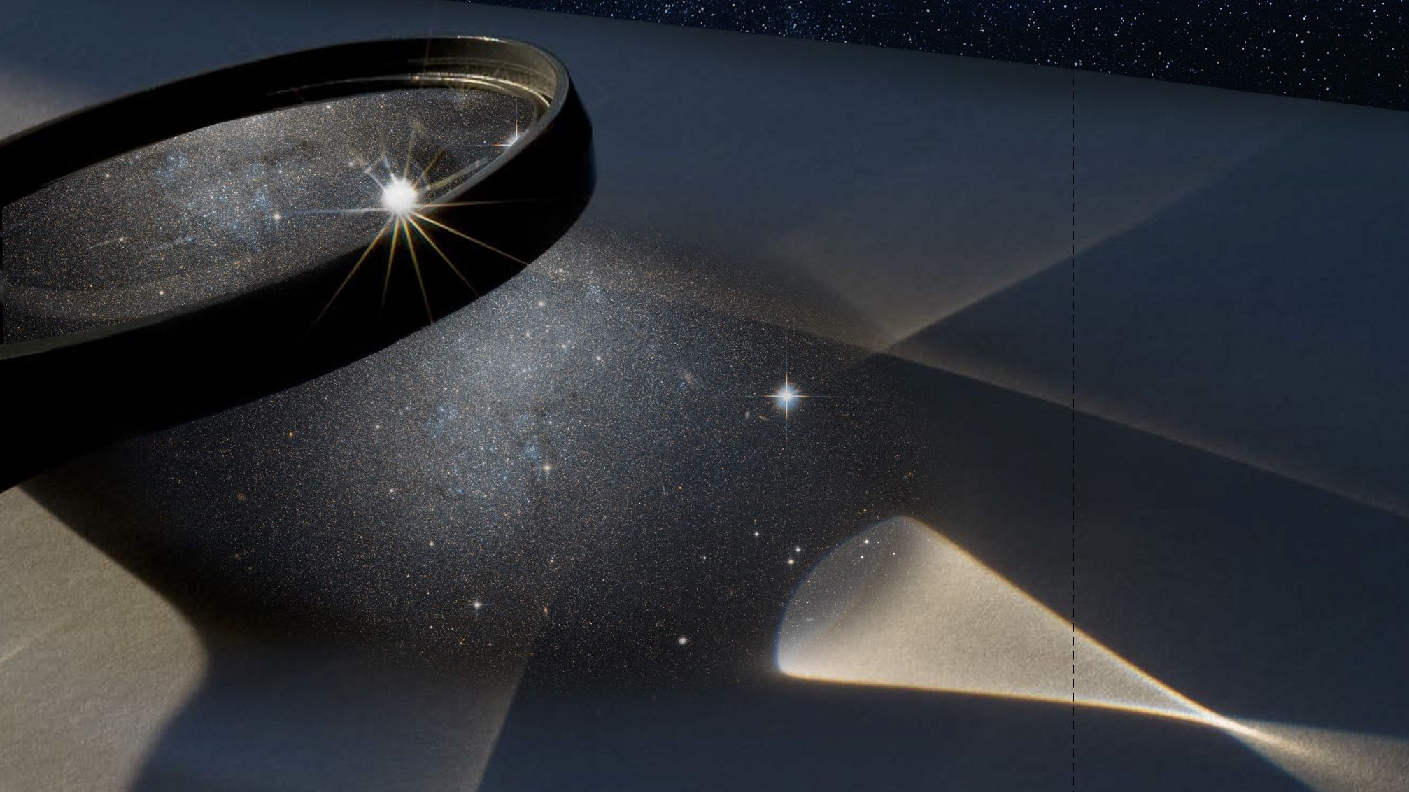 94億光年彼方の矮小銀河、銀河団の重力レンズを利用して発見