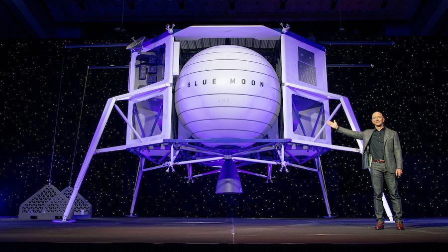 NASA月着陸船開発、ジェフ・ベゾスが有力4社で企業連合