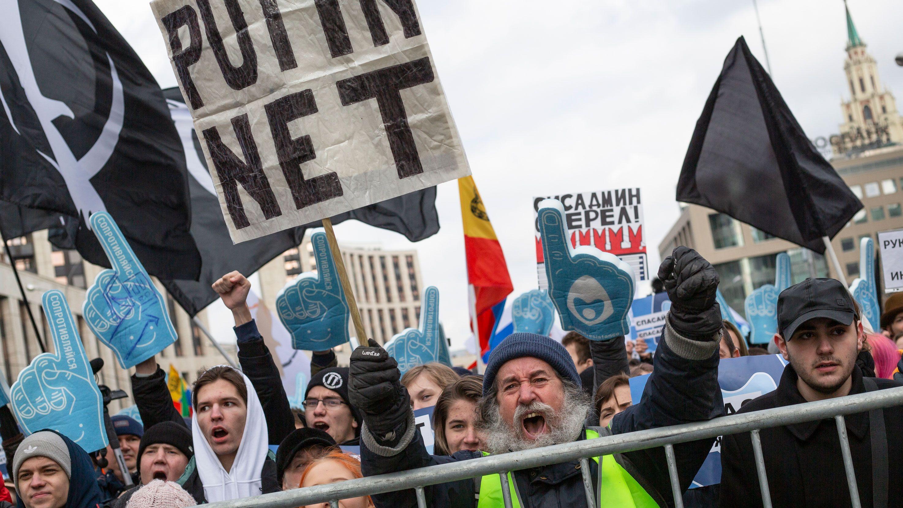 ロシアで「インターネット鎖国」を可能にする法律が発効