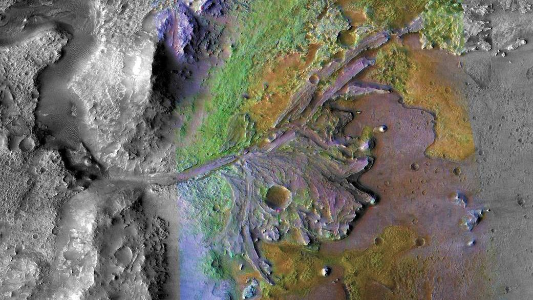 生命の痕跡見つかるか? マーズ2020着陸地に化石の可能性