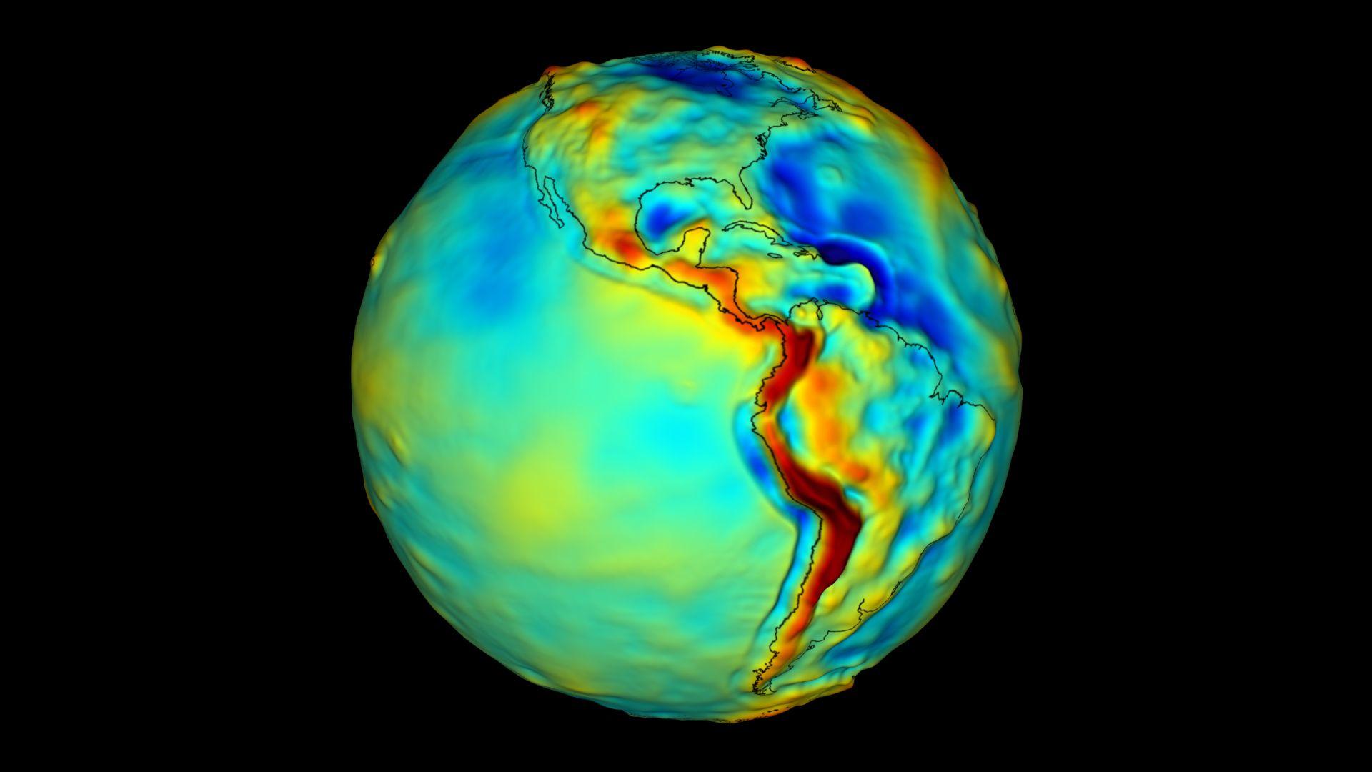 読者からの質問:地球の重力場には季節変動がありますか?