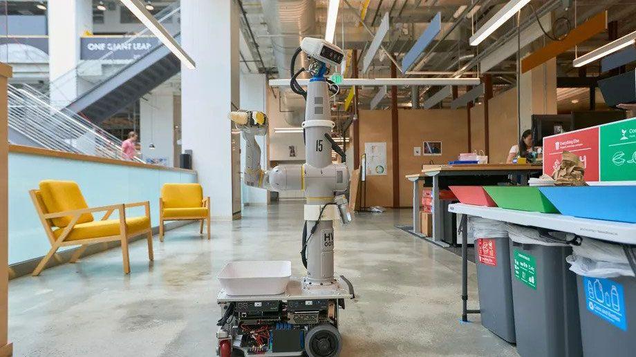 アルファベット「エブリデー・ロボット」が始動、ゴミ分別から