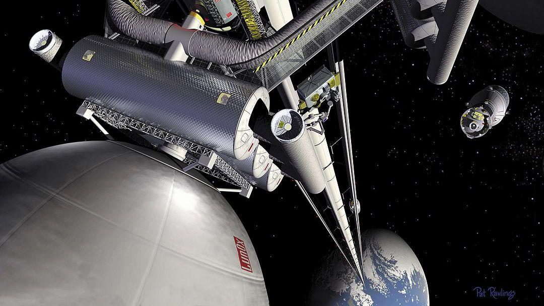 読者からの質問:宇宙まで行けるエレベーターは作れますか?