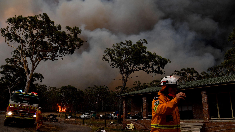 続くオーストラリアの山火事、気候変動が被害を拡大