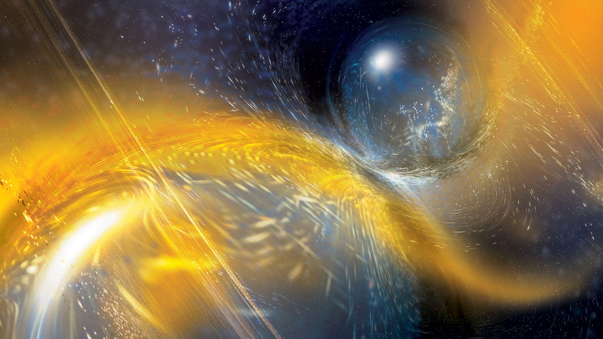 中性子星同士の衝突による重力波を観測、史上2回目