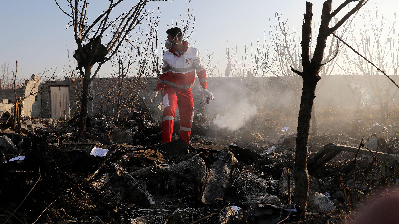 ウクライナ旅客機はイランのミサイルが撃墜、米情報機関が主張