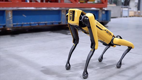 ボストン・ダイナミクスのロボット犬、油田のパトロールに初採用