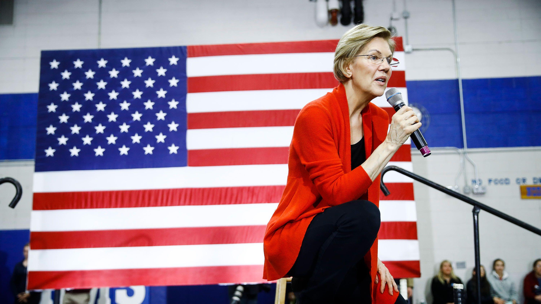 米大統領選:気候変動に「3兆ドル」、エリザベス・ウォーレン候補