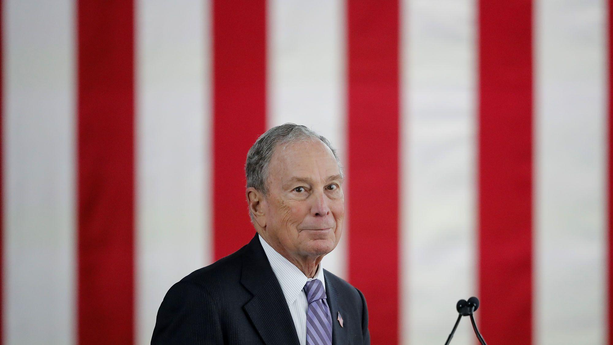 マイケル・ブルームバーグが暗号通貨政策、米大統領選候補で唯一