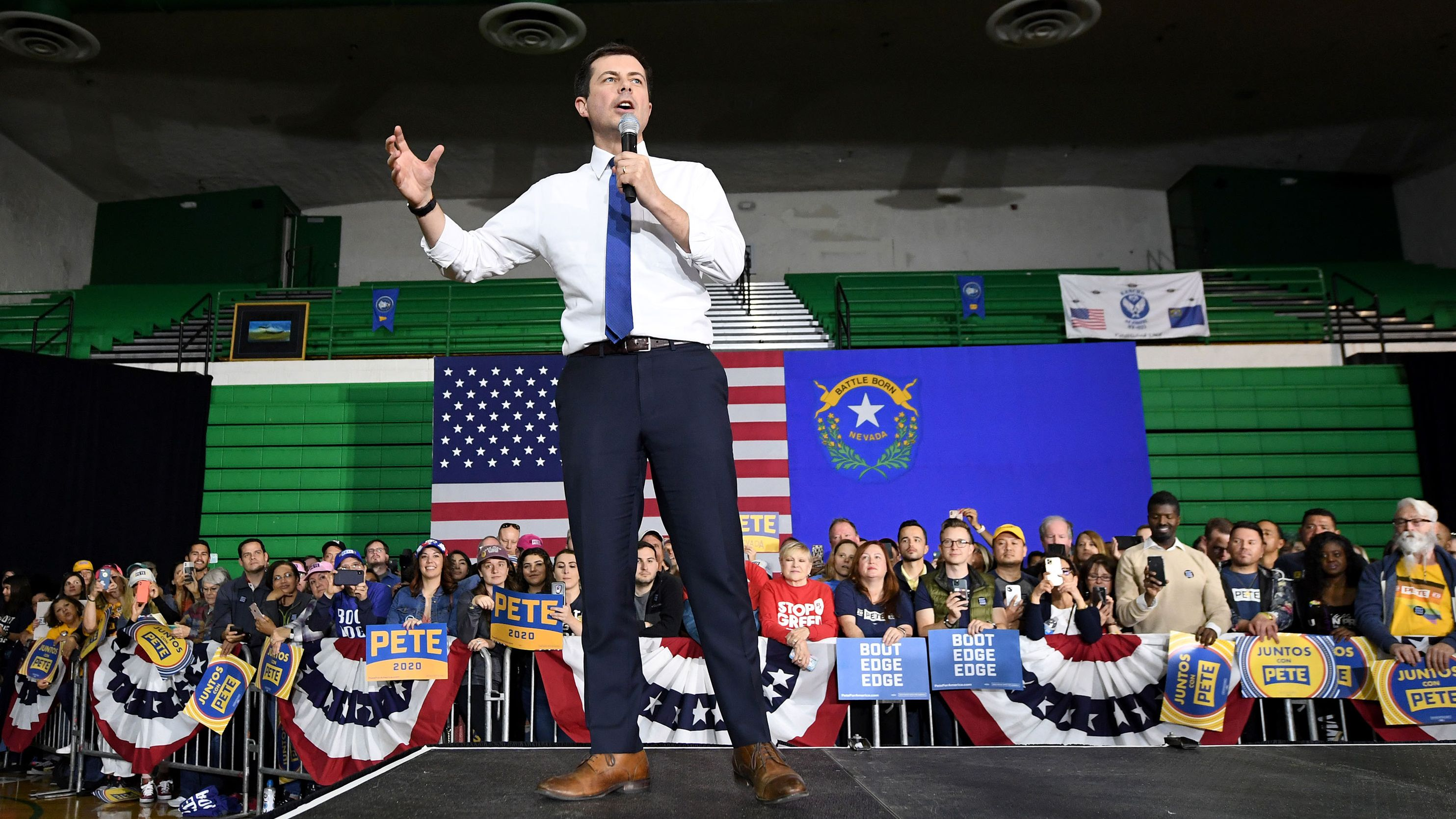 米大統領選:クリーンエネ予算4倍に、ピート・ブティジェッジ候補