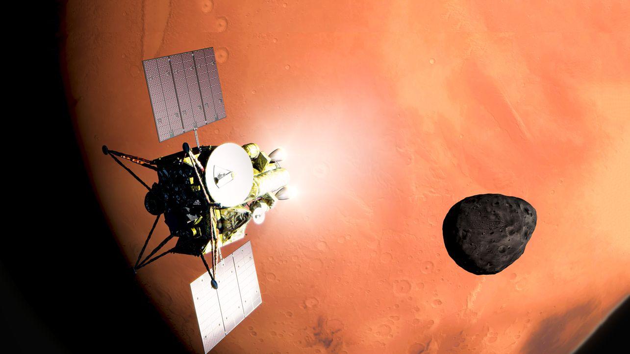 火星衛星からのサンプル採取、JAXAが2024年に打ち上げ