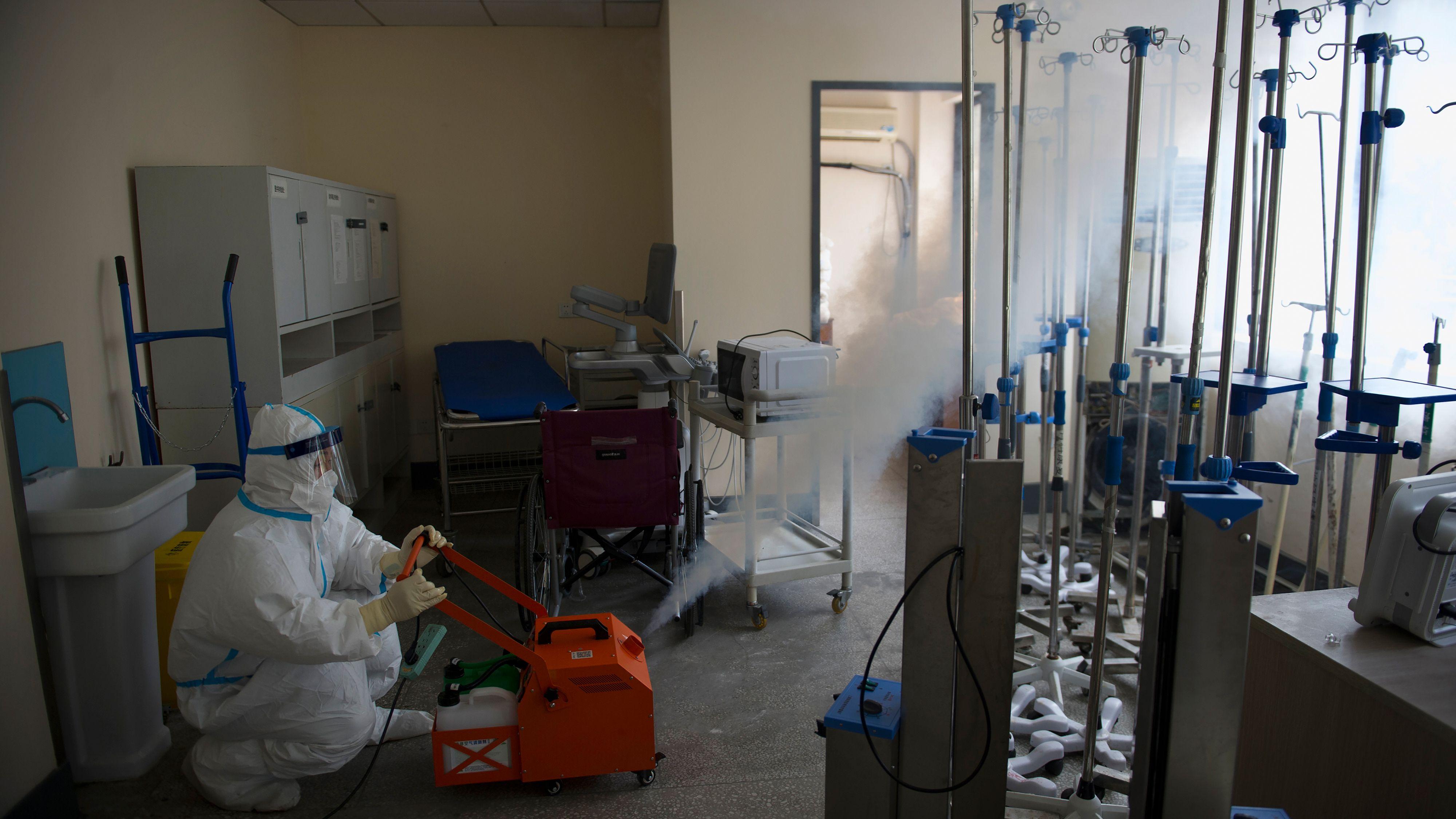 新型コロナ、武漢含む河北省で新たな感染者がゼロに