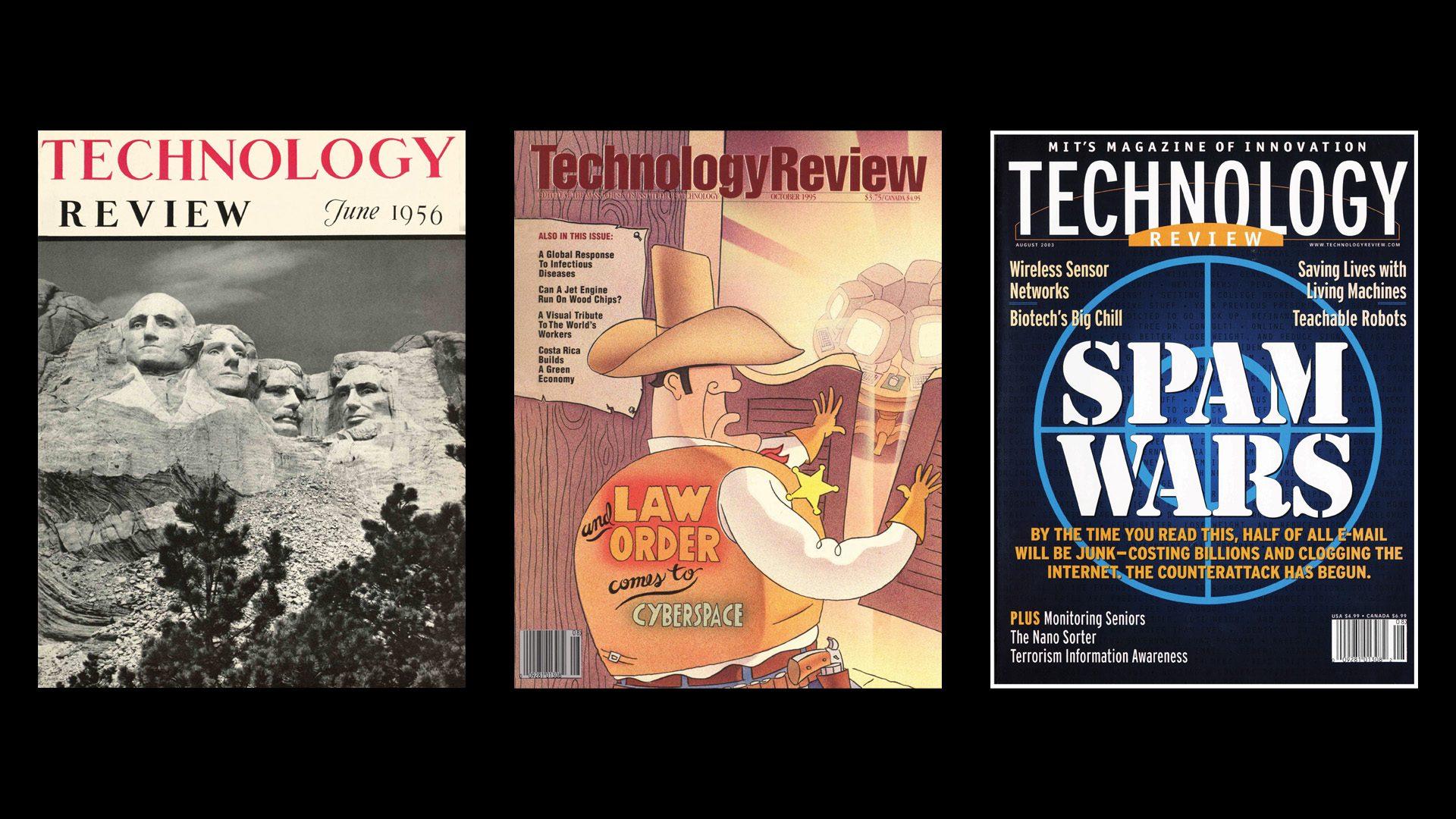 MITテクノロジーレビューの誌面で振り返る、感染症との戦い
