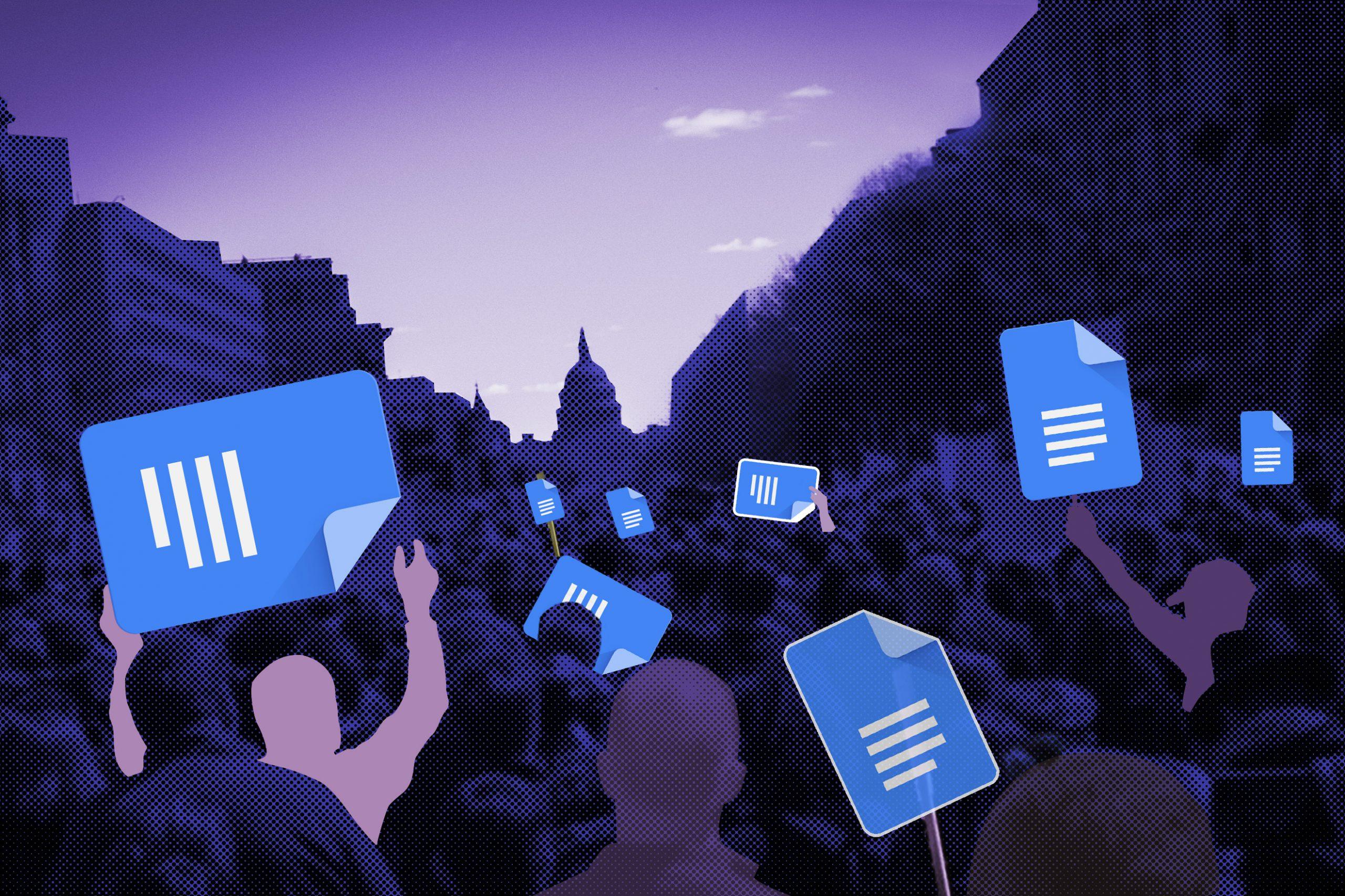 グーグル・ドキュメントが ソーシャルメディア化 抗議運動でなぜ使われたか