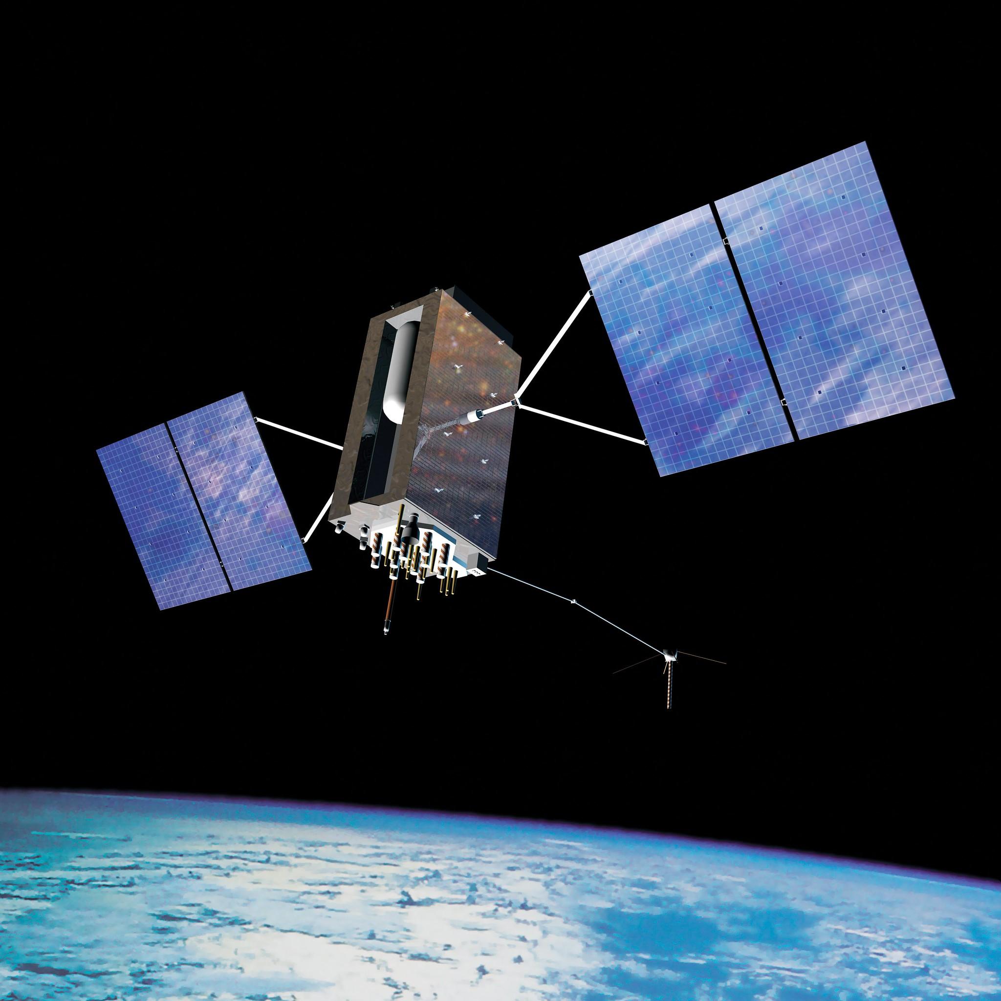 ロシア、「対衛星兵器」の軌道上実験を実施か 米宇宙軍が報告