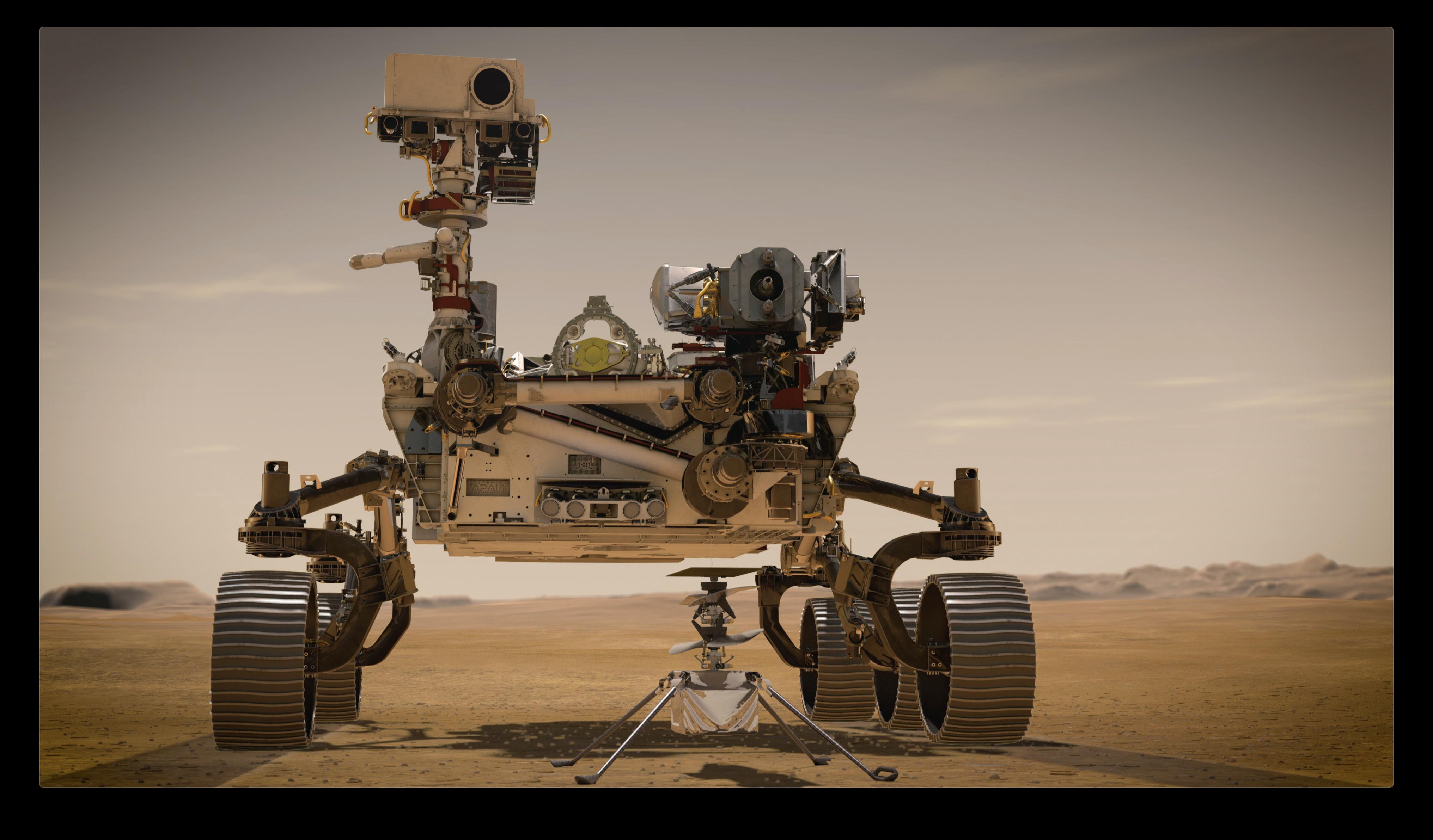 最新テクノロジー満載のNASA火星探査車、生命の痕跡を探す旅へ