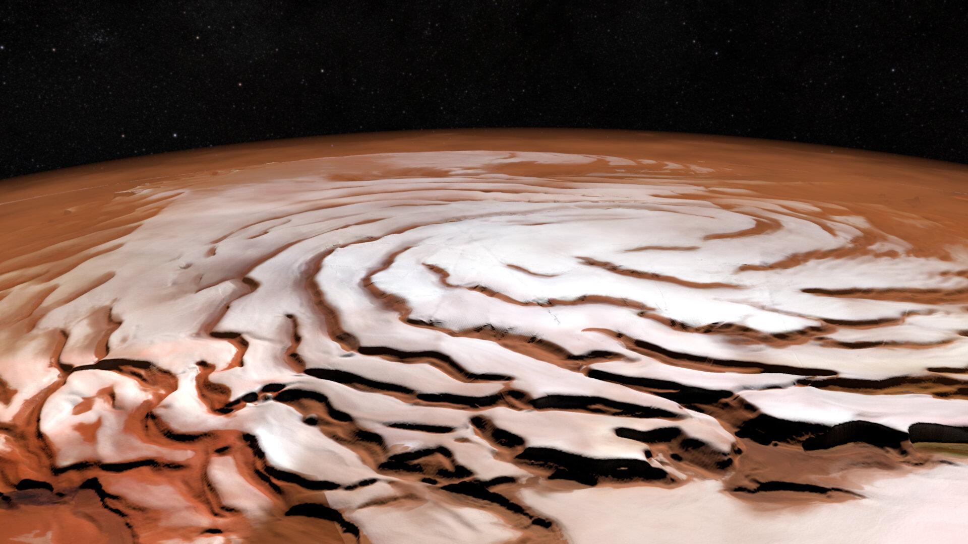 火星は実は寒かった?1万276カ所の谷の分析で分かった新予測